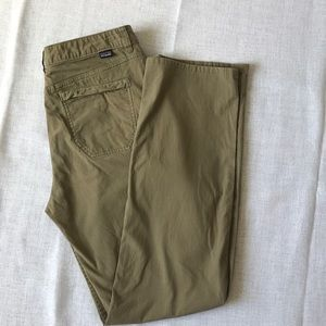 Patagonia Women's Hiking Trail Pants Size 10 Olive